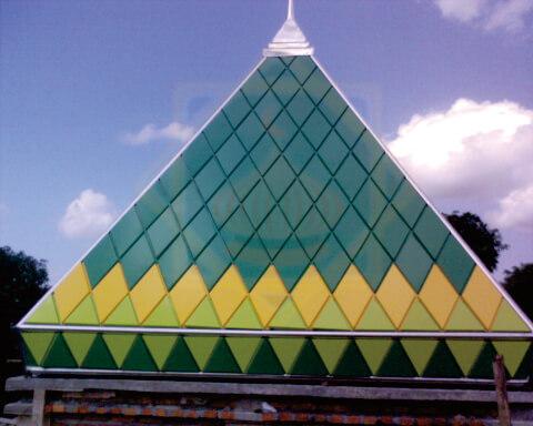 gambar kubah acp ssa piramid