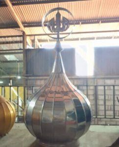 gambar kubah stainlist steel