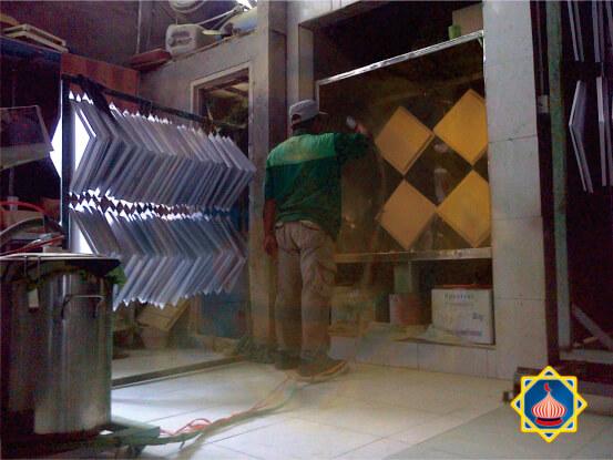 pengecatan powder coating